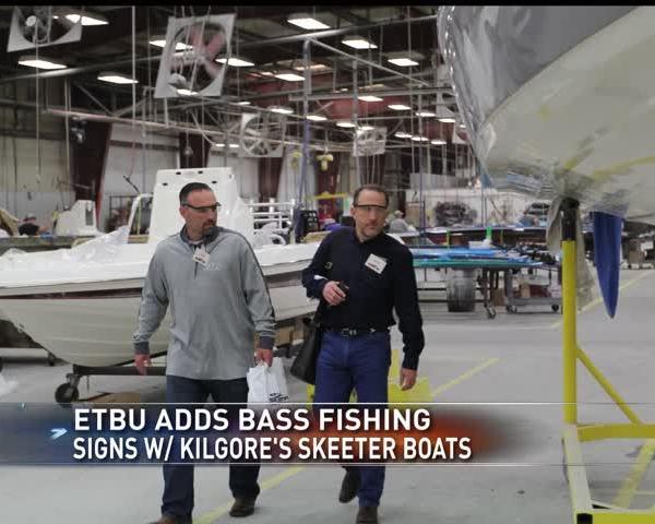 ETBU Adds Bass Fishing- Signs with Skeeter Boats of Kilgore_94389216-159532