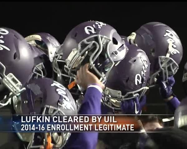 Lufkin enrollment numbers cleared by UIL_74160996-159532