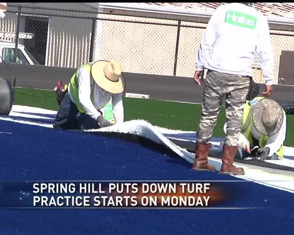 Spring Hill gets new turf- upgrades stadium_54511157-159532
