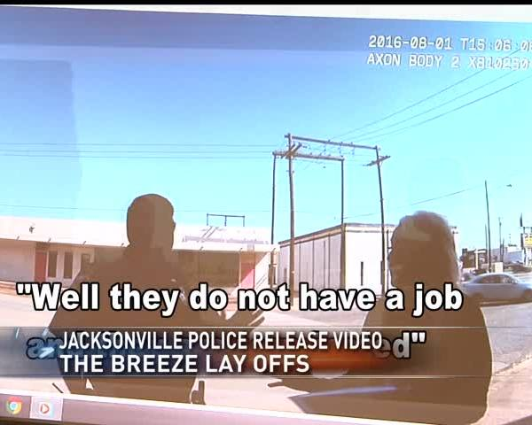 Jacksonville Police release Breeze layoffs video_86953070-159532