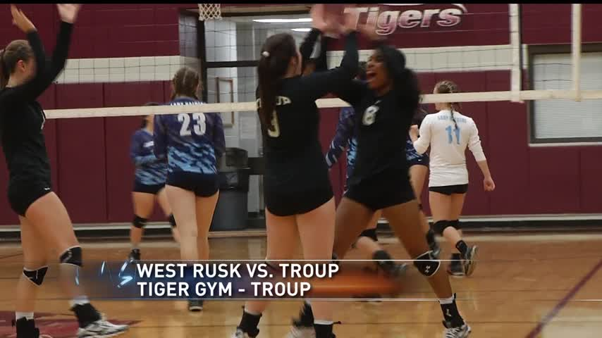 HS Volleyball- Troup sweeps West Rusk 3-0_89457904-159532