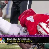 Athlete of the Week: Makyle Sanders