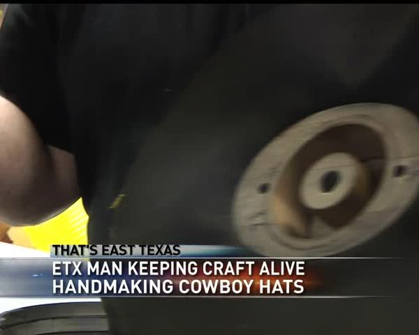 East Texas man keeps the art of hand making hats alive_77544033-159532