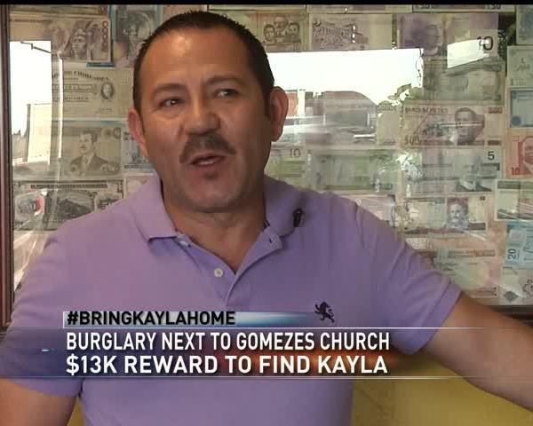 Burglary next to church where Gomez last seen_12305147-159532