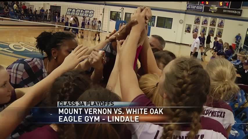 H-S- Volleyball Playoffs- White Oaks Beats Mount Vernon 3-1_79848860-159532
