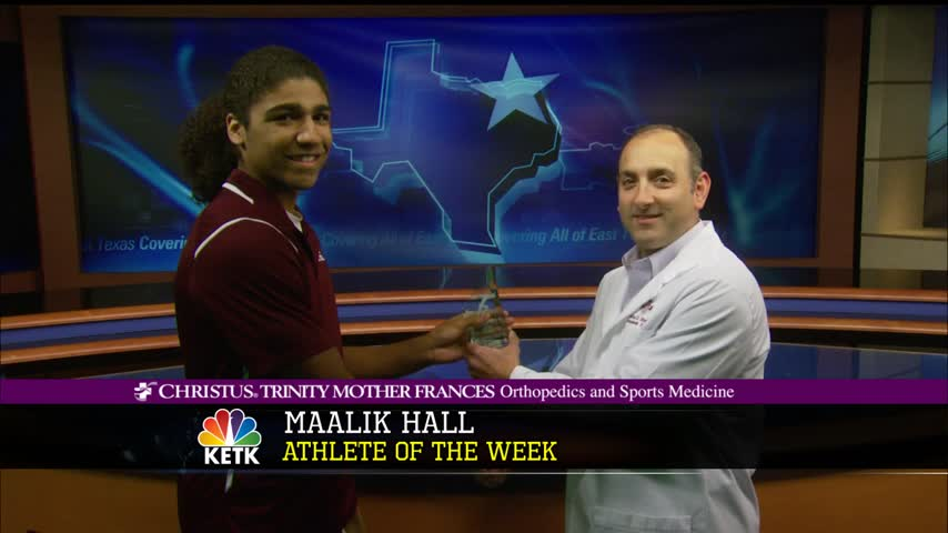 Maalik Hall- Christus Trinity Mother Frances Athlete of Week_66906679