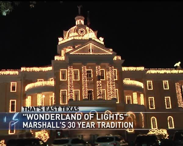 Marshall's Wonderland of Lights celebrates 30 years