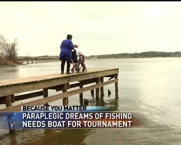 Because You Matter- Bass fisherman needs help_63410805