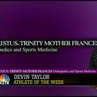 Devin Taylor- CHRISTUS TMF Athlete of the Week_11209944