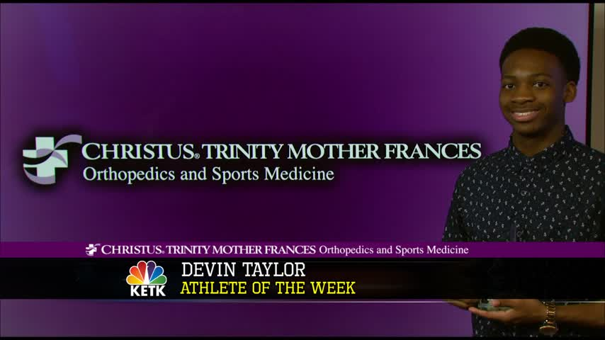 Devin Taylor- CHRISTUS TMF Athlete of the Week_11209944