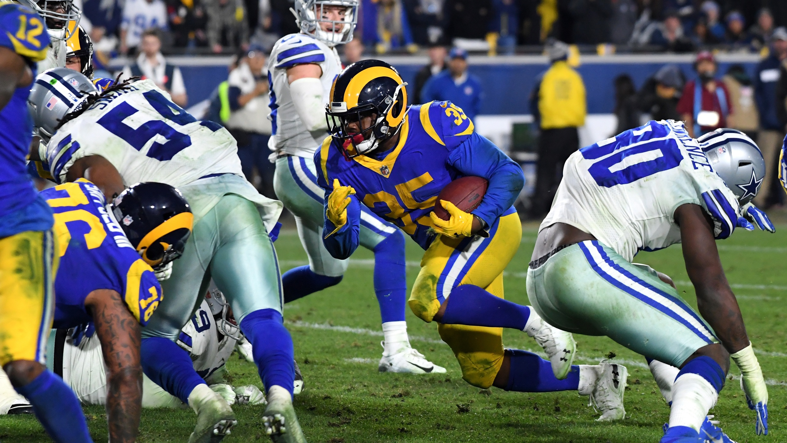 Cowboys Rams Divisional Getty Images