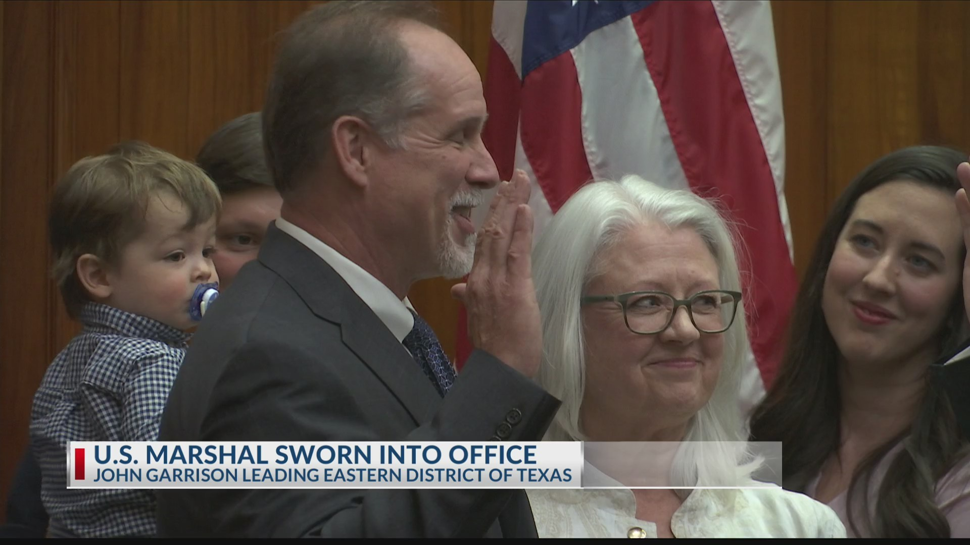 EXCLUSIVE: New U.S. Marshal sworn into office for Eastern District of Texas
