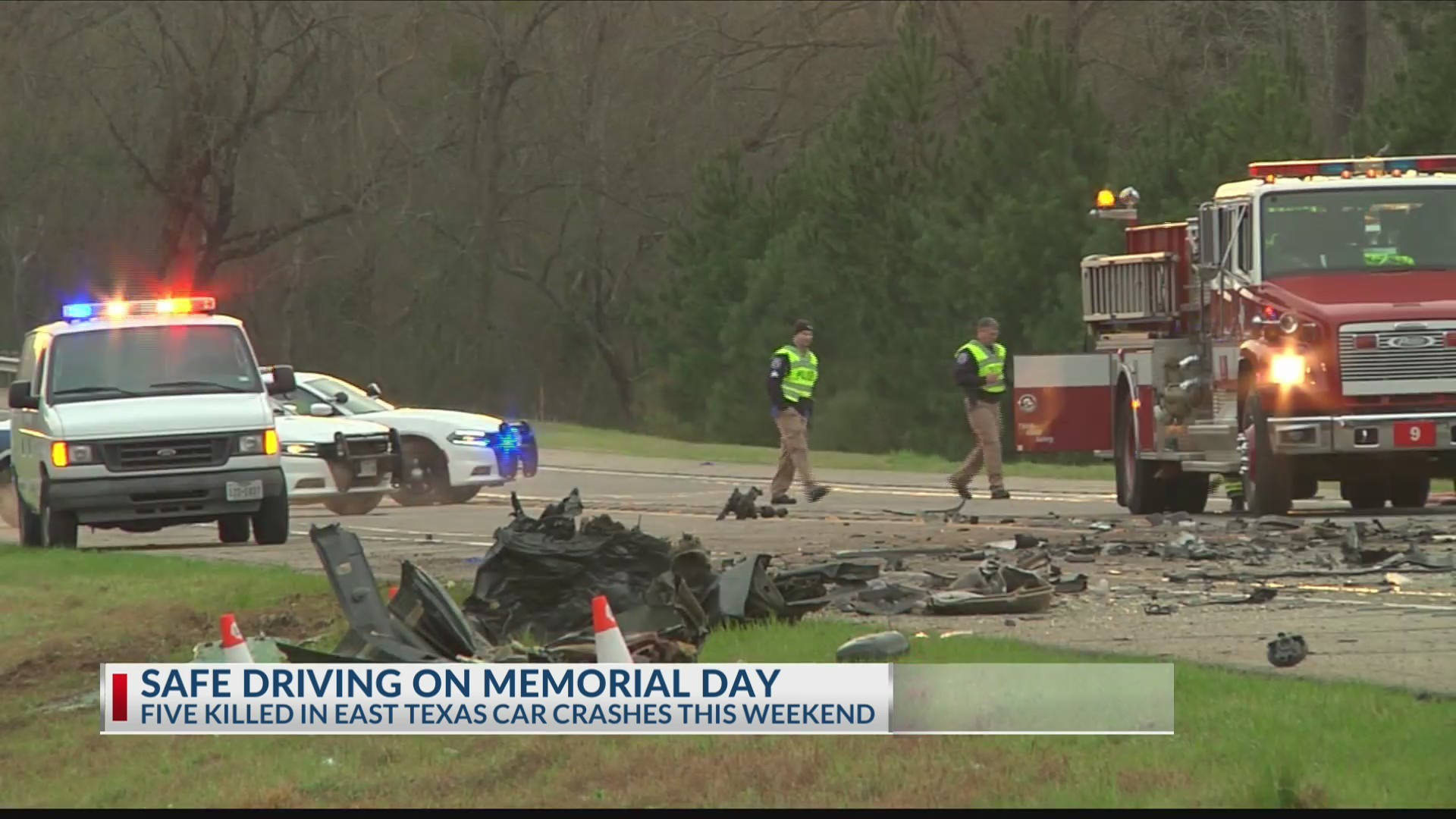 BUCKLE UP: Memorial Day weekend crashes show dangers of driving