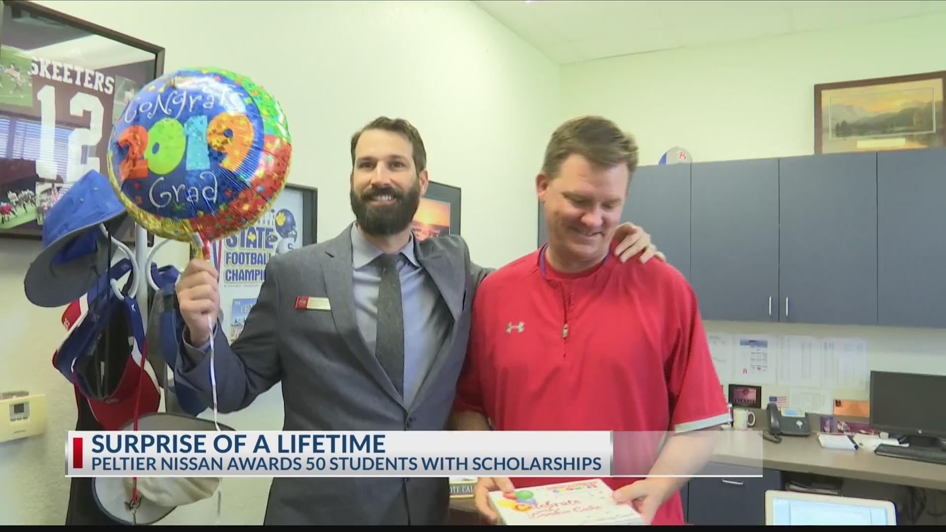Peltier Tyler Tx >> Peltier Nissan Surprises East Texas Students With Scholarships
