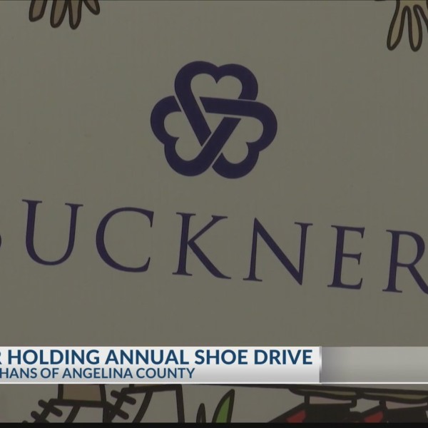 4th Annual Buckner Angelina County shoe drive