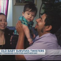 6-month-old survives in car during Canton tornado