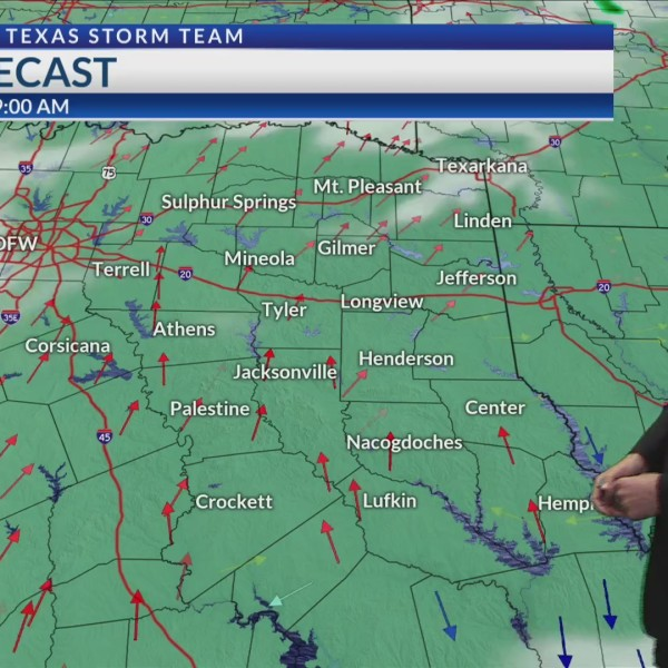 Monday Midday Forecast