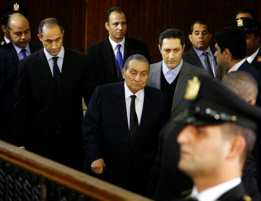 Hosni Mubarak, Alaa Mubarak, Gamal Mubarak
