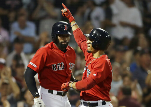 Mookie Betts, Jackie Bradley Jr