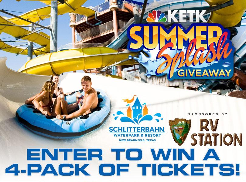 KETK Summer Splash Giveaway Sponsored by RV Station Tyler