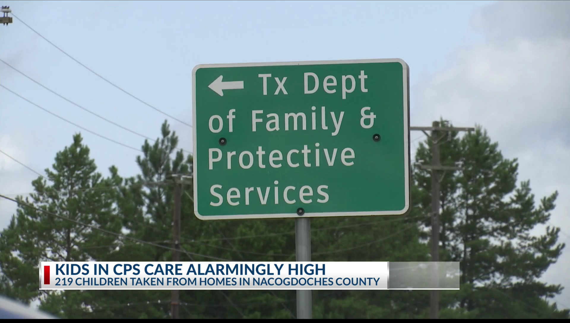 Children in CPS care at all-time high in Nacogdoches County | KETK