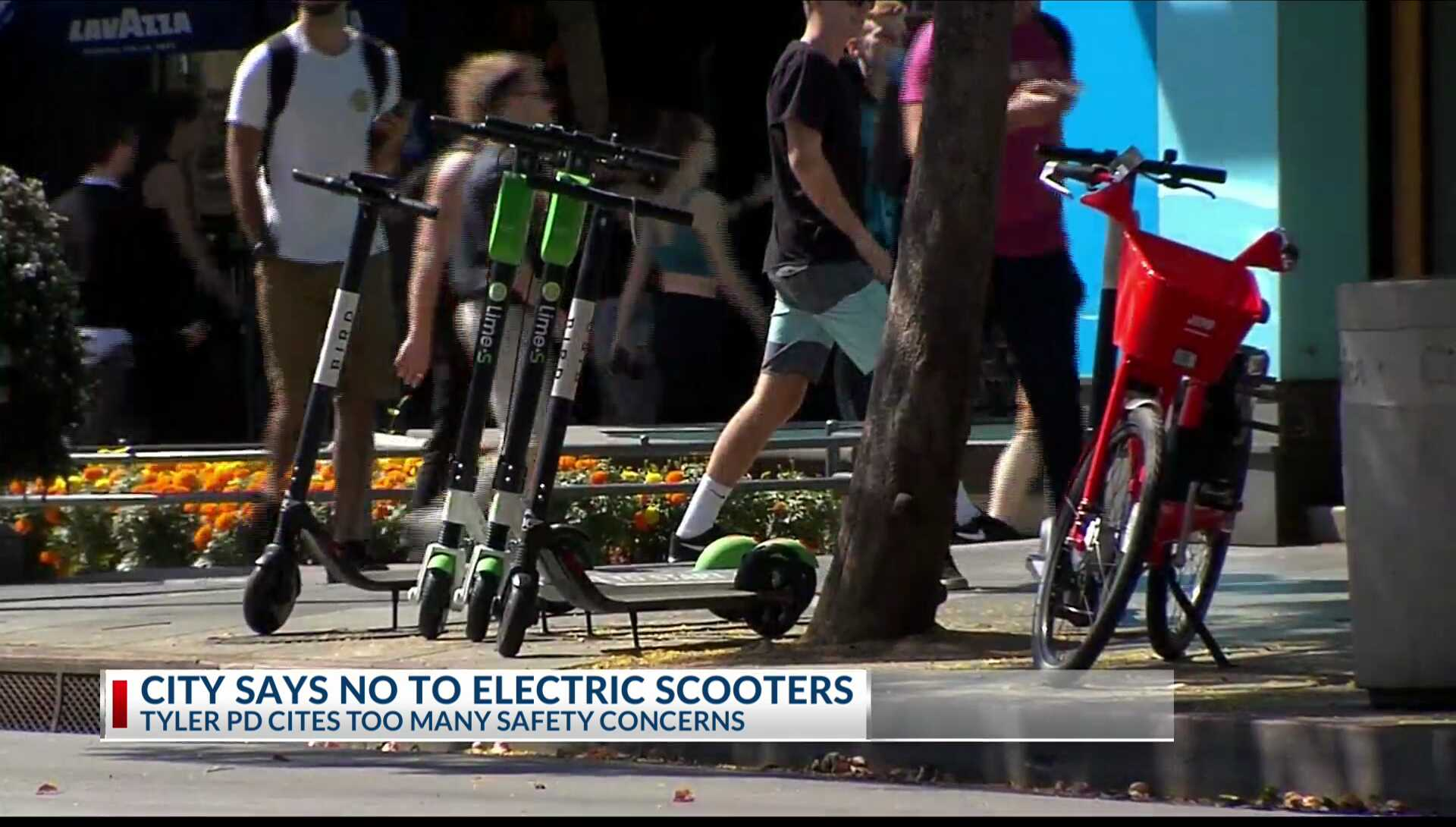 City of Tyler says no to Blue Duck Scooters for downtown | KETK