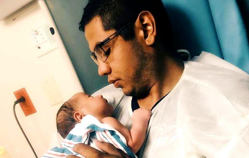 newborn sons emergency video - 850×540