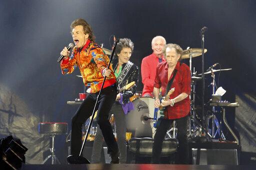 Mick Jagger, Ronnie Wood, Charlie Watts, Keith Richards