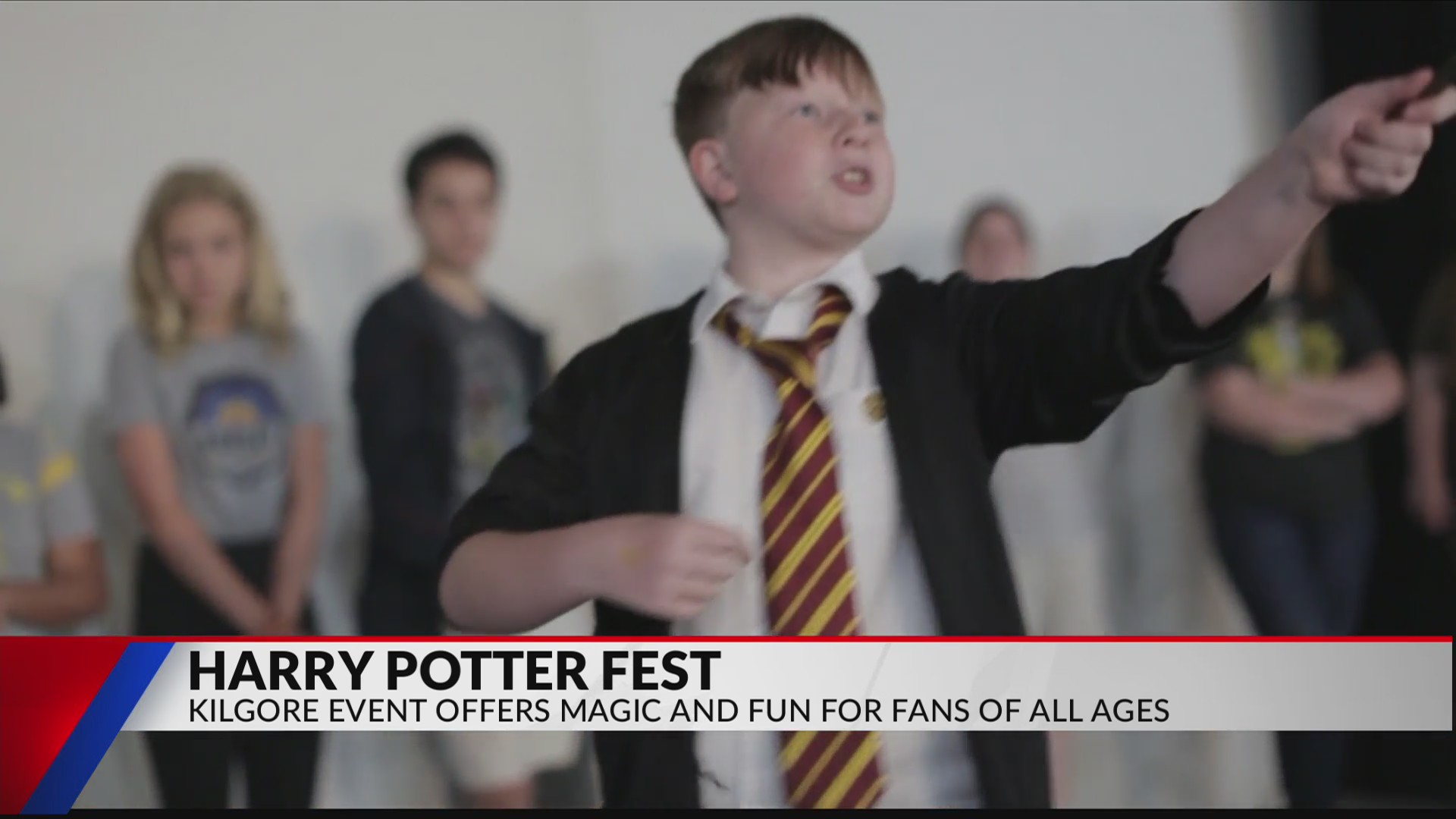 Kilgore offers magical time at Harry Potter Fest | KETK | FOX51