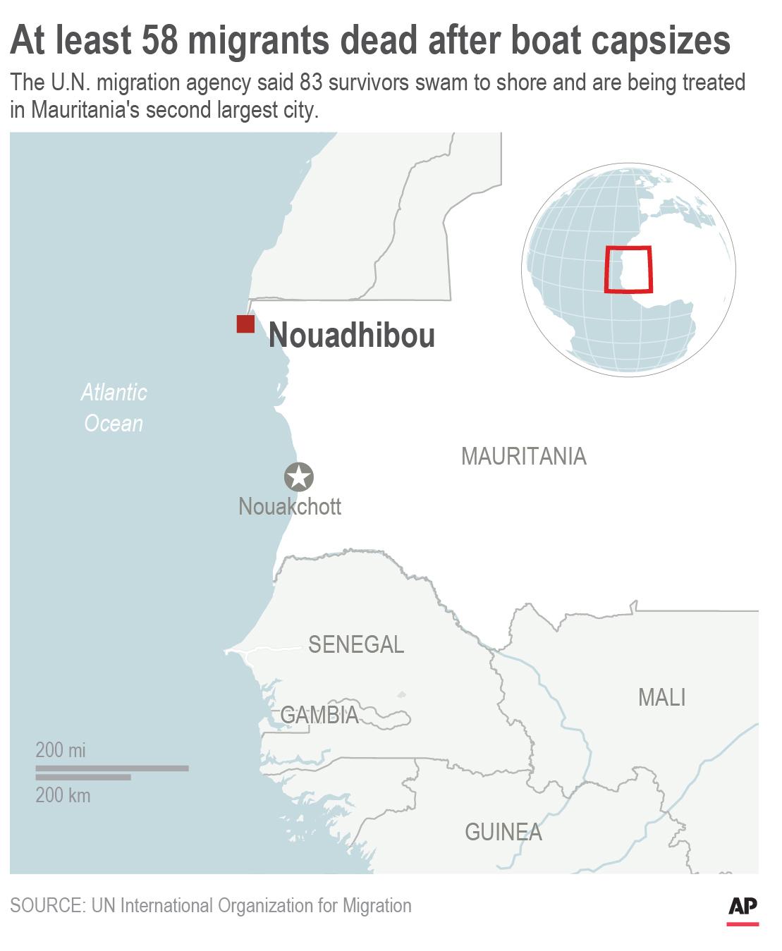 Mauritania Migrant Ship Capsizes