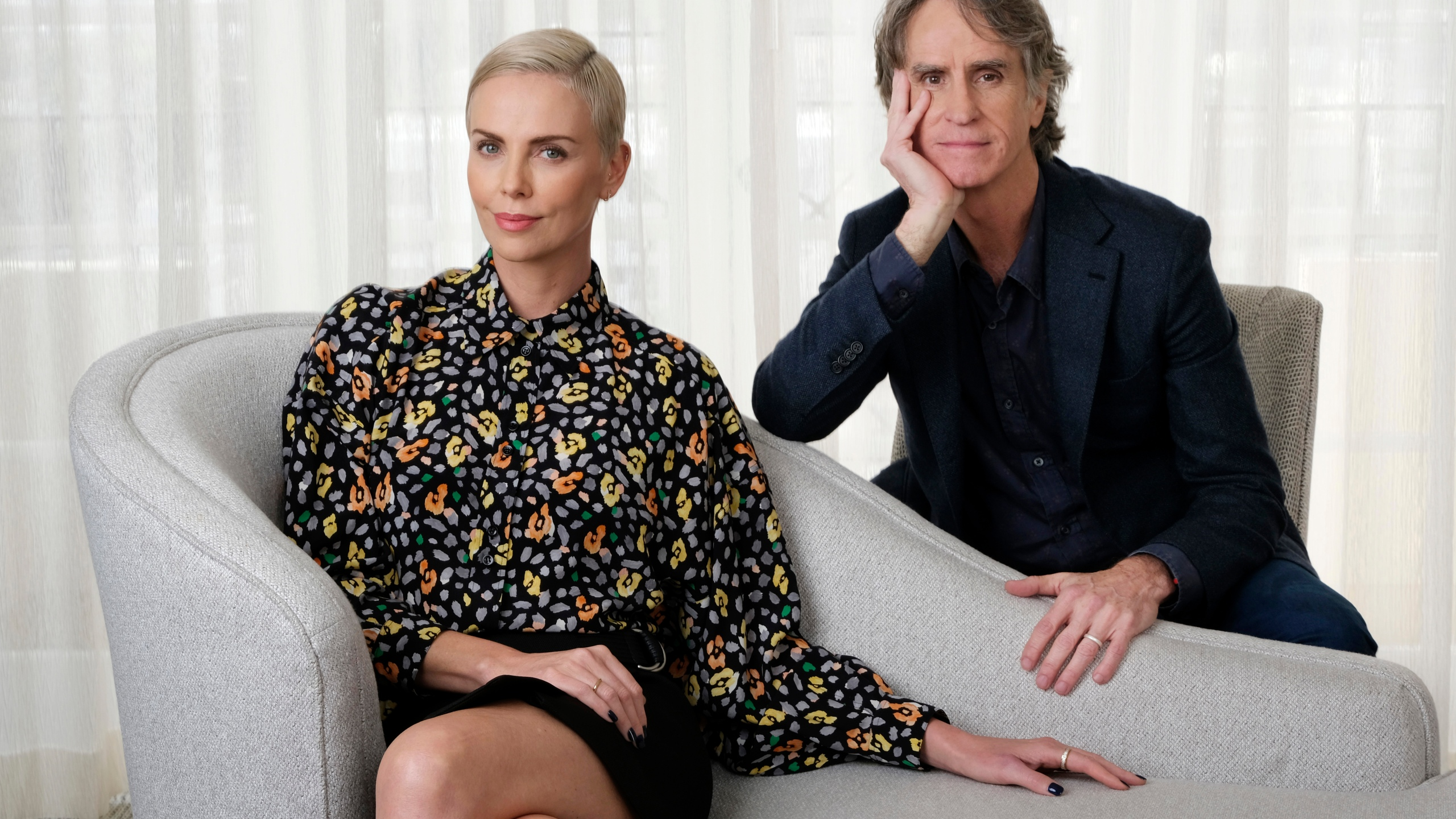 Charlize Theron, Jay Roach
