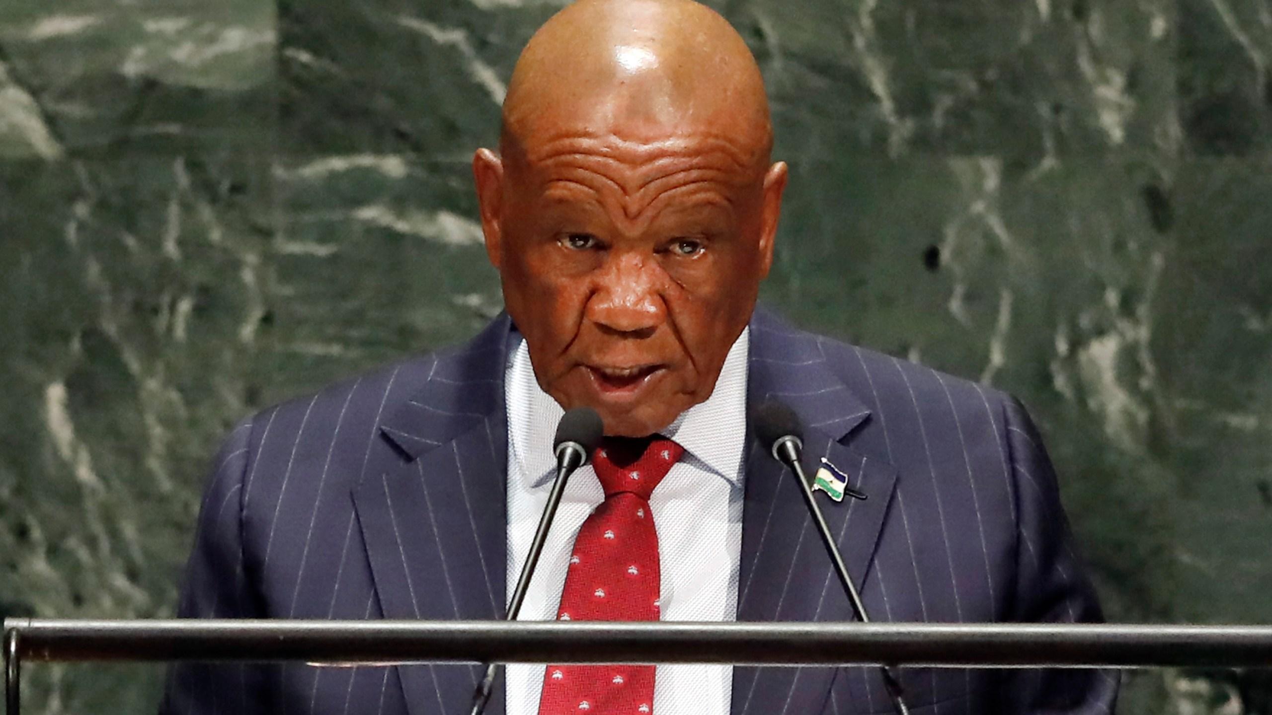 Thomas Motsoahae Thabane