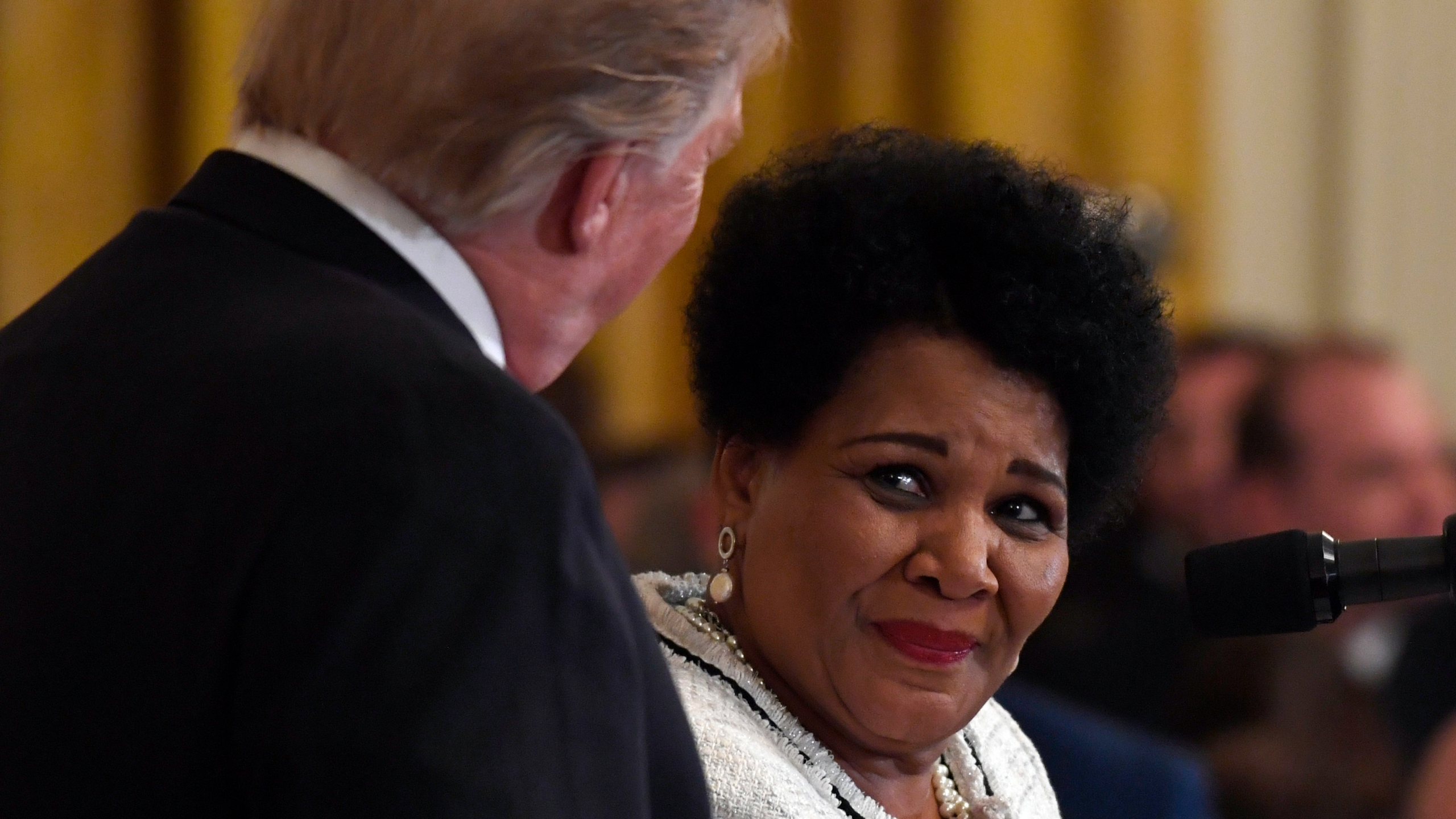 Donald Trump, Alice Johnson