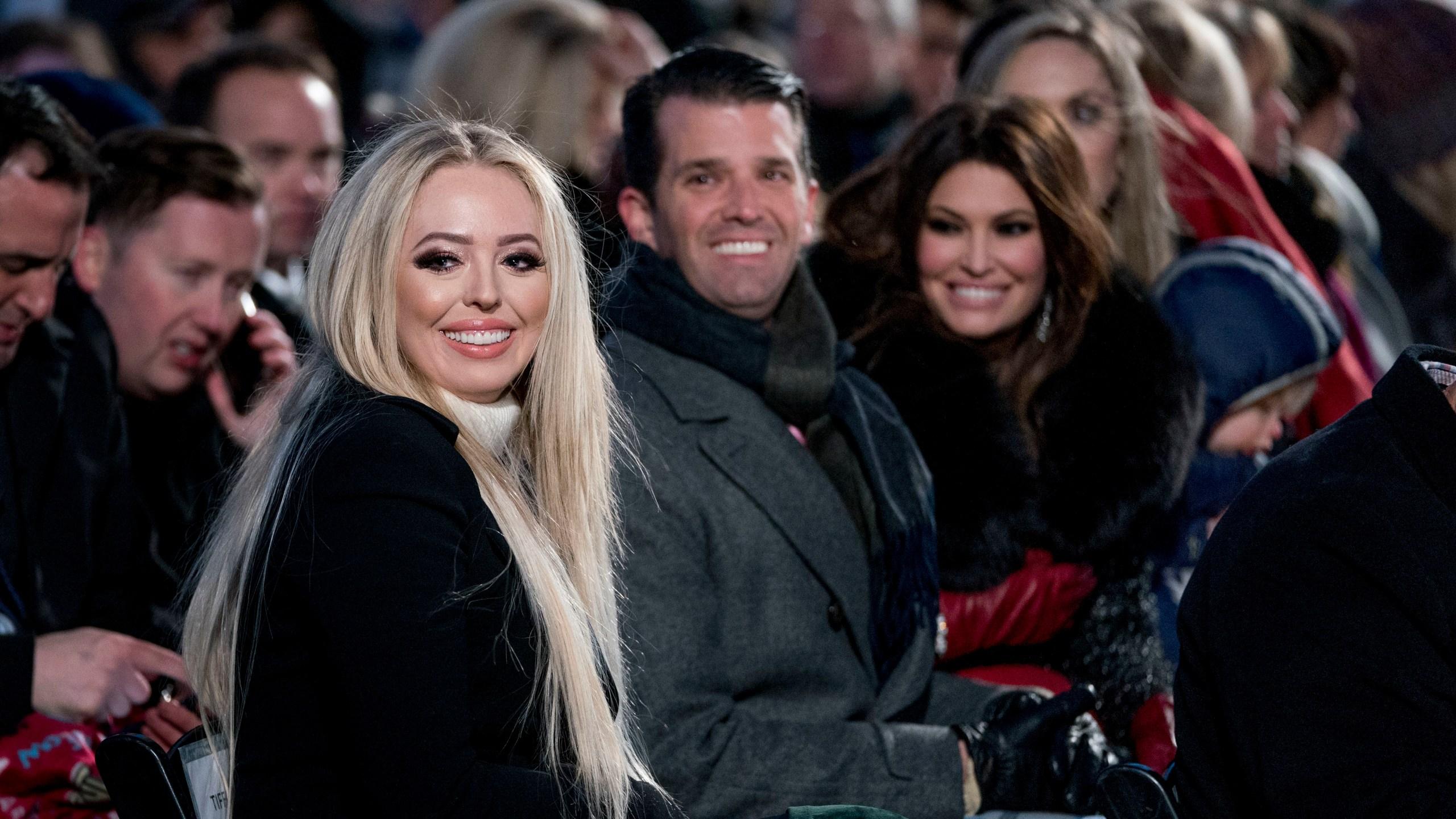 Donald Trump Jr., Kimberly Guilfoyle, Tiffany Trump
