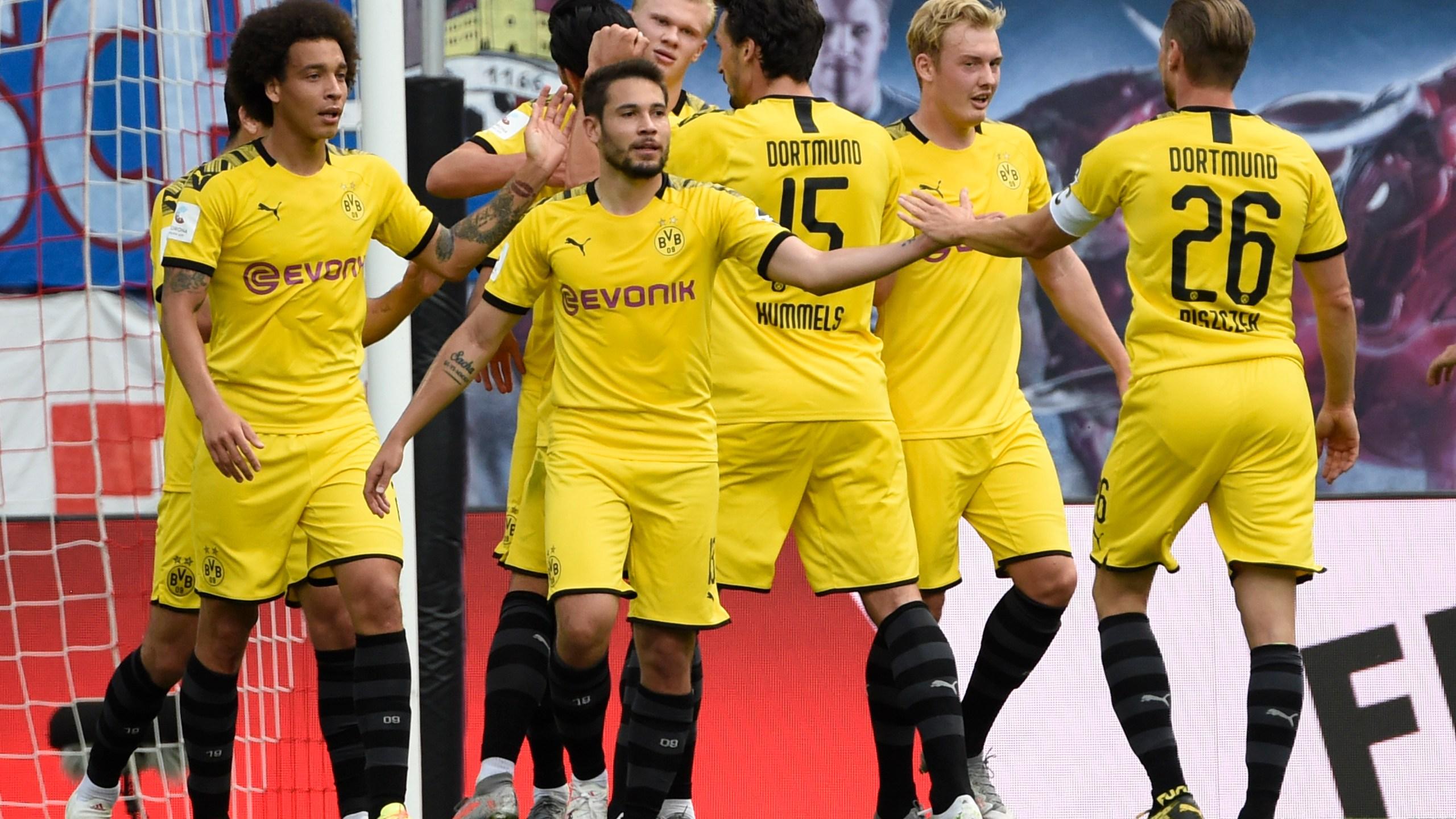 Haaland Goals Secure Bundesliga Runner Up Spot For Dortmund Ketk Com Fox51 Com