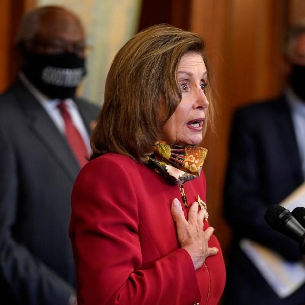 Nancy Pelosi, James Clyburn, Frank Pallone